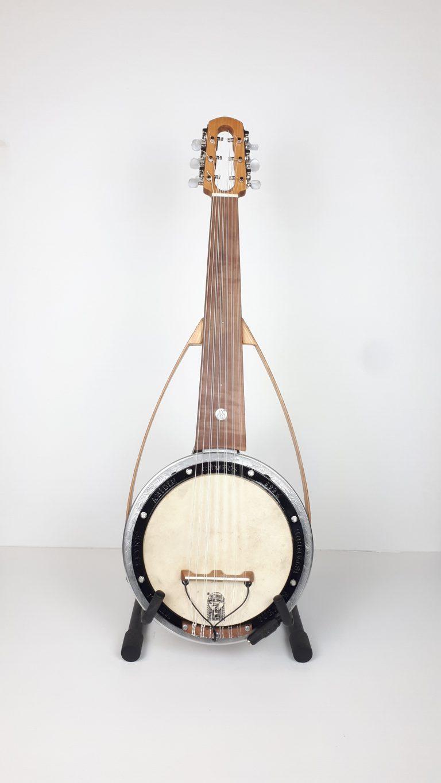 عود عربي Ababic Cumbus 7 courses luthier france face عود كهربائي