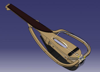 Sylent-Oud Custom wood bow