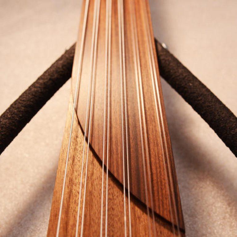 Sylent-oud 12 fingerboard pao ferro