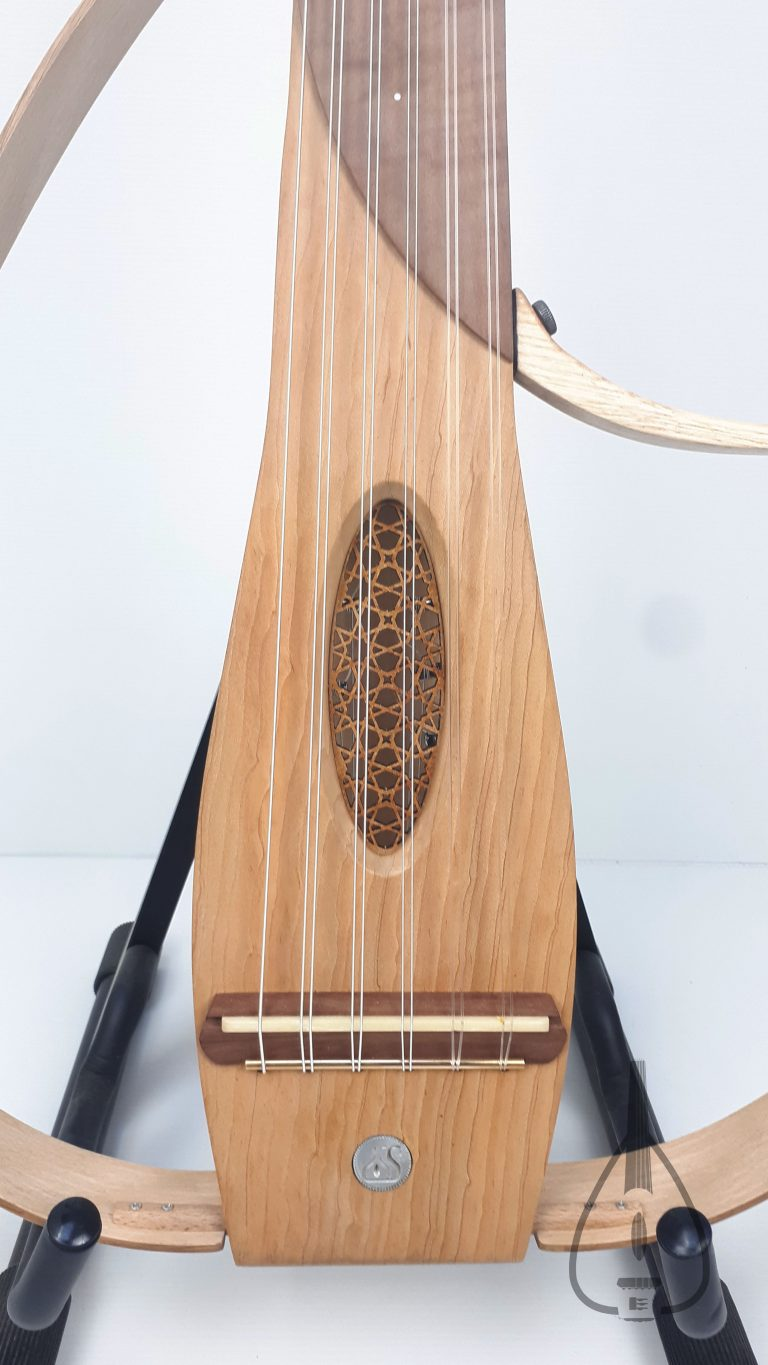 Sylent oud classic wood short hoops - rosace العود الكهربائي
