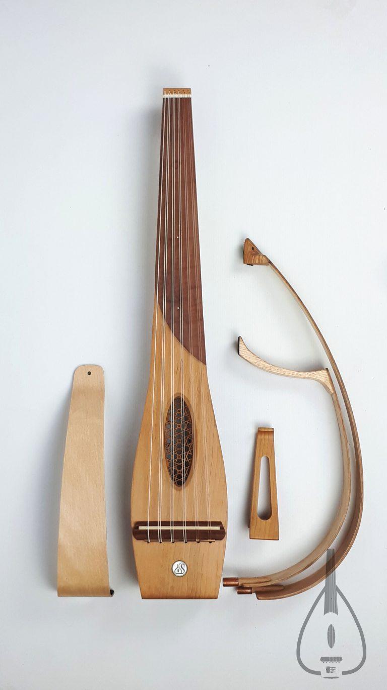عود عربي Sylent oud classic wood short hoops - set العود الكهربائي