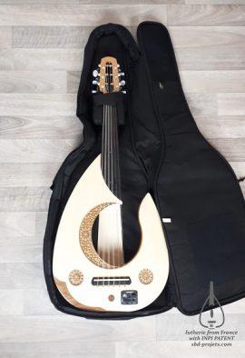 electric oud moon handmade arabic turkish عود عربي - softcase