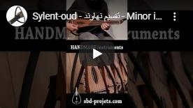 عود عربي video sylent-oud minor improvisation